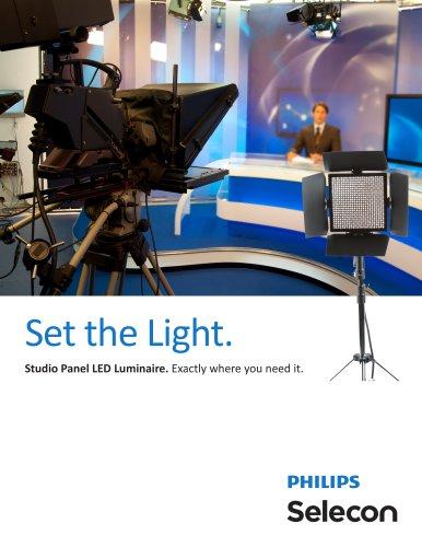 Studio Panel LED Luminaire