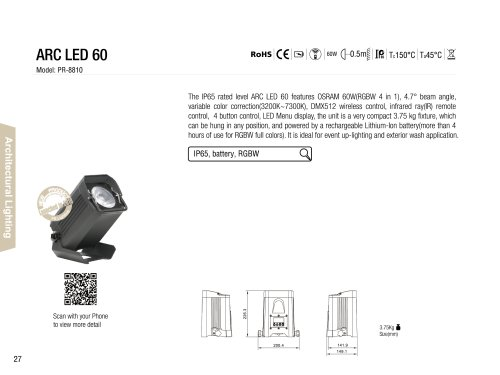ARC LED 60