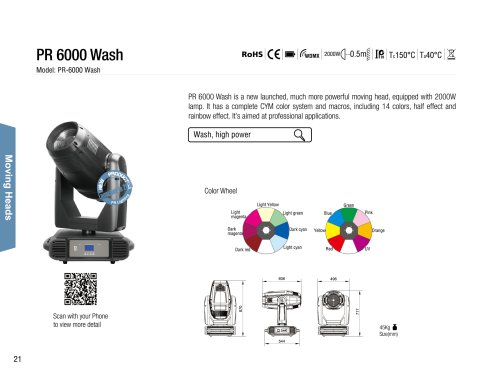PR 6000 Wash