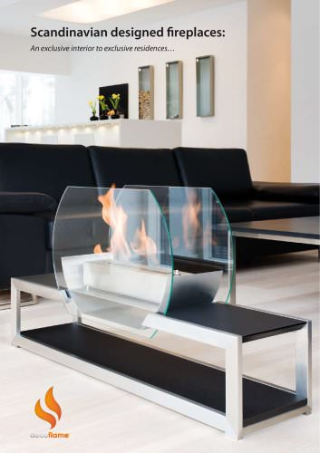 SCANDINAVIAN DESIGN FIREPLACE