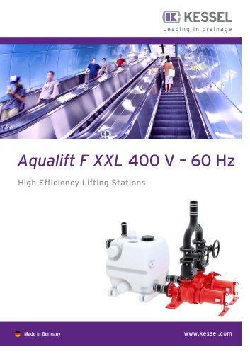 Aqualift F XXL 400 V – 60 Hz