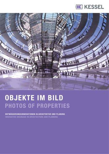 Brochure avec références internationales