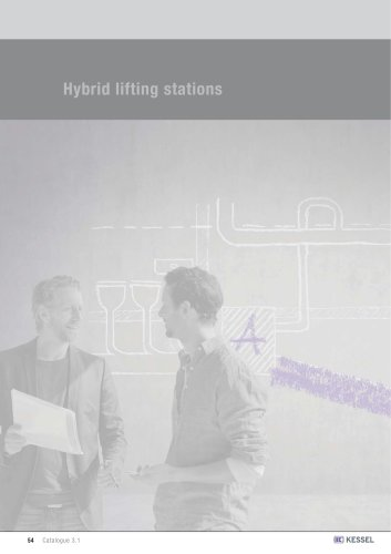 Hybrid lifting stations