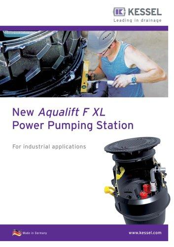 New Aqualift F XL Power Pumping Station