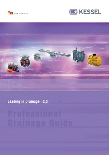 """Product Catalogue """"Leading in Drainage 2.3"""""""