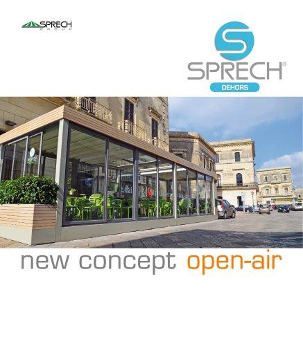 DEHORS - new concept open-air