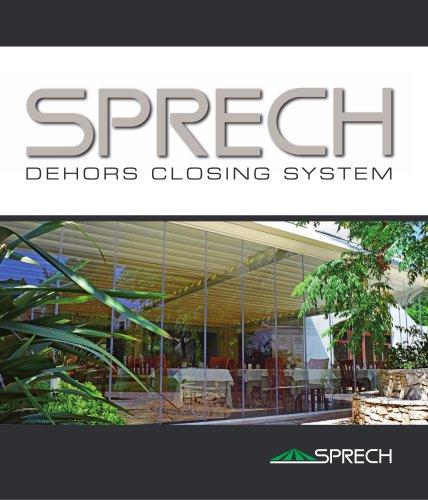 SPRECH DEHORS CLOSING SYSTEM