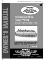 Rectangular Ultra Frame™ Pool