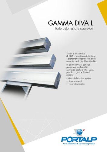Porta scorrevole lineare DIVA L