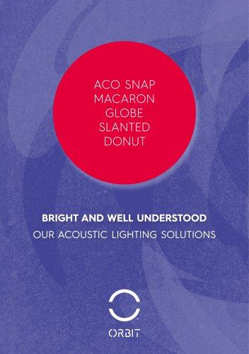 ORBIT- Acoustic lighting solutions
