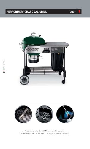 Performer Charcoal Grill