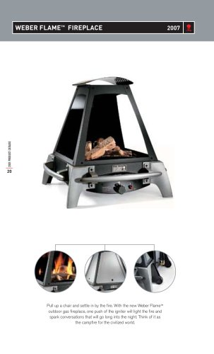 Weber Flame Fireplace
