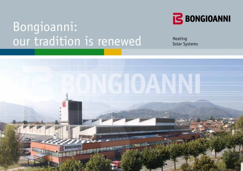 Bongioanni: our tradition is renewed