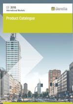 2016 PRODUCT CATALOGUE BERETTA INTERNATIONAL - EN