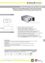High-power LED Block Light