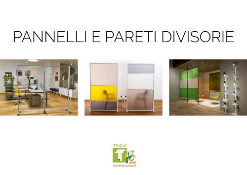 Brochure Pannelli e Pareti Divisorie 2021