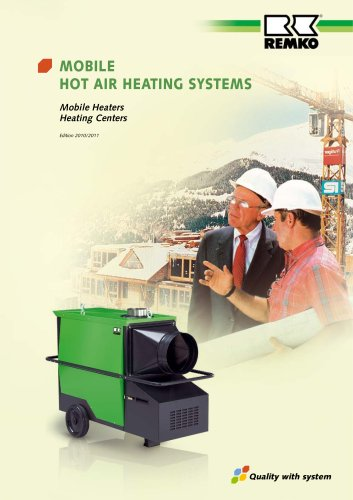 Mobile Warm Air Heating Systems 2010-2011