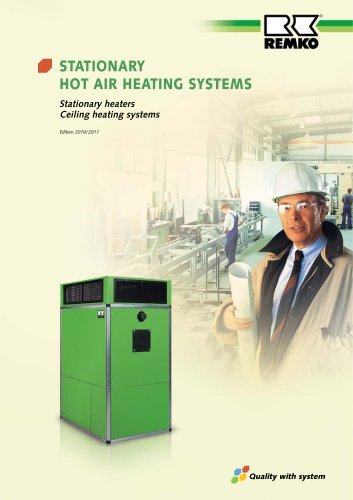 Stationary Warm Air Heating Systems 2010-11
