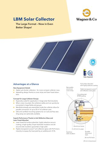 LBM Solar Collector