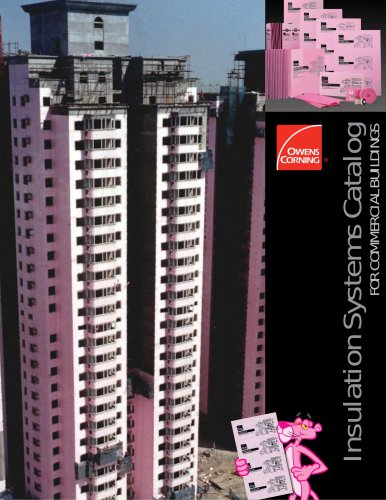 Insulation Systems Catalog for Commercial Buildings