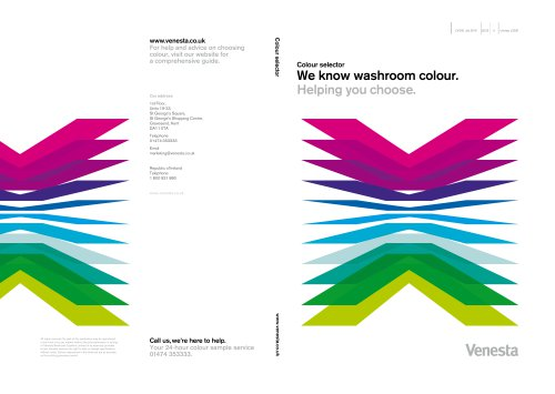 Colour Selector Brochure