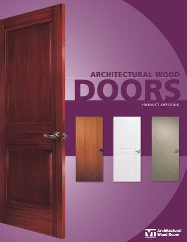Architectural Wood Door