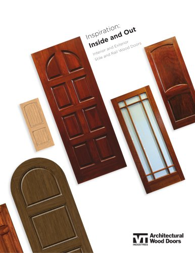 Exterior Stile & Rail Door