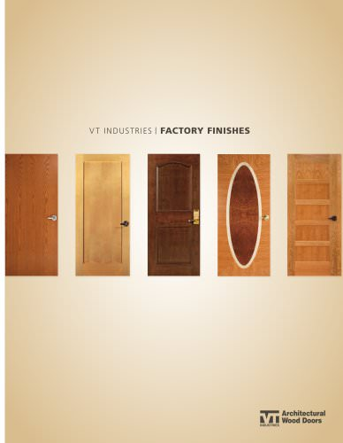 Factory Finishes