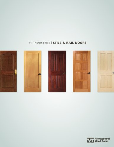 vt industries / STILE & RAIL DOORS