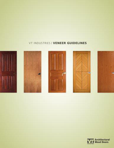 vt industries / VENEER GUIDELINES