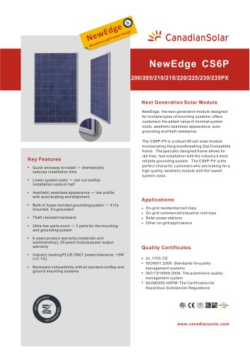 NewEdge CS6P-PX