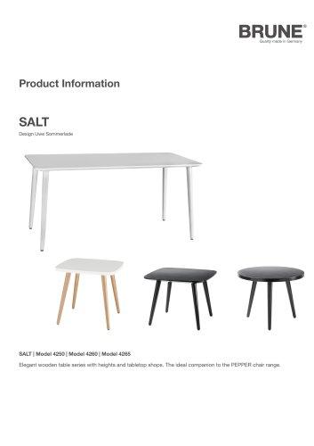 SALT Model 4250   Model 4260   Model 4265