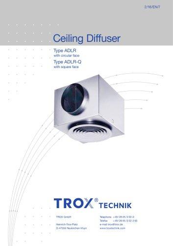 Ceiling Diffuser Type ADLR/ADLR-Q
