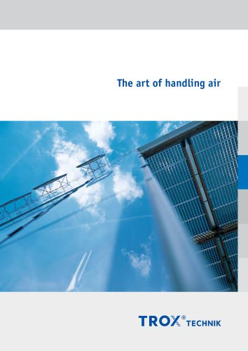 The art of handling air
