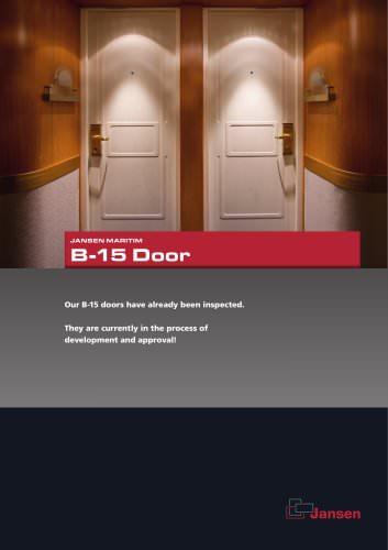 B-15 Door