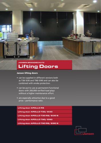Lifting Doors