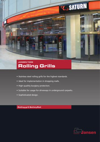 Rolling grills