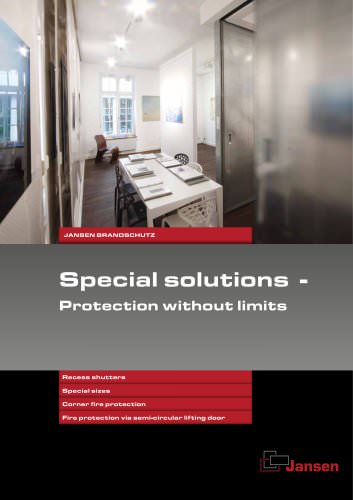 Special solutions - Protection without limits