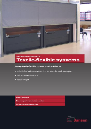 Textile-flexible systems