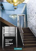 Multioccupancy mailboxes and signage catalogue 2012