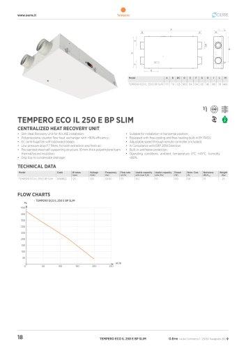 TEMPERO ECO IL 250 E BP SLIM