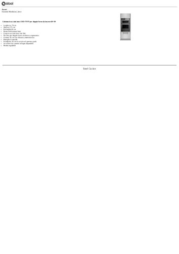 Ascot Sistemi Modulari, Inox