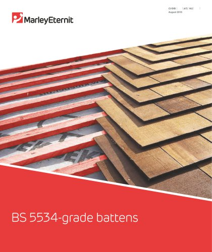 BS 5534 Grade Battens