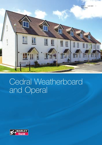 Cedral Weatherboard and Operal