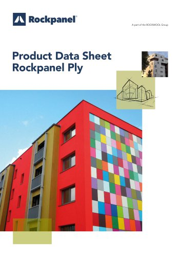 Product Data Sheet Rockpanel Ply