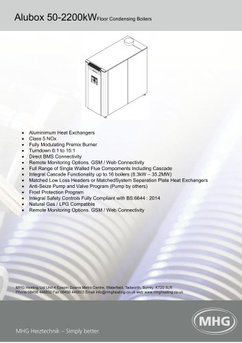 Alubox 50-2200kW