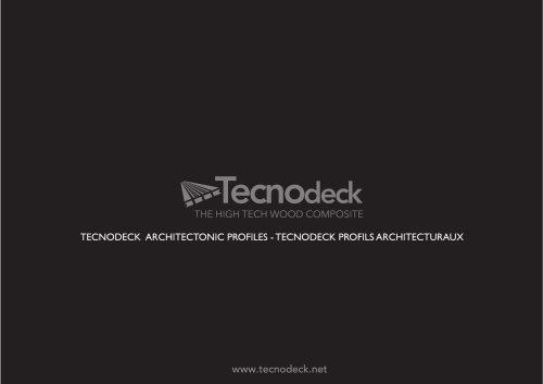 Tecnodeck Architectural Profiles and Facades