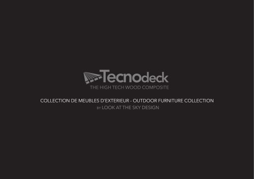 Tecnodeck Look at the Sky Design Collection