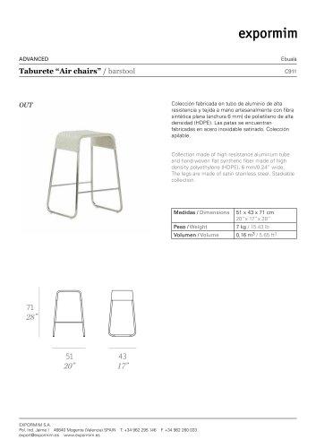 Air chairs : C911
