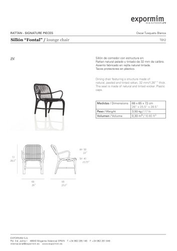 IN:Fontal Lounge chair